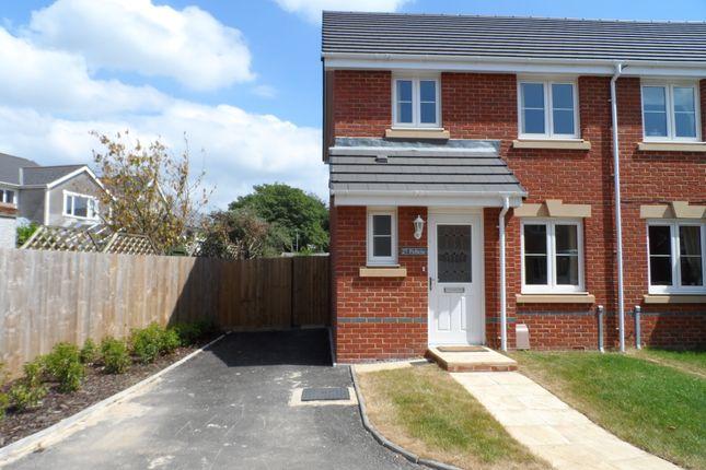 Thumbnail Semi-detached house to rent in Clos Joslin, Litchard
