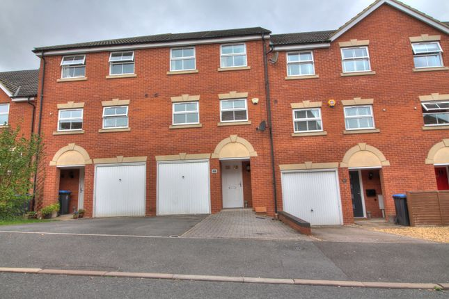 Thumbnail Town house for sale in Tungstone Way, Market Harborough