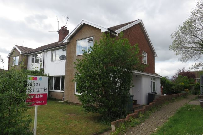 Thumbnail Flat for sale in Claerwen Drive, Lakeside, Cardiff