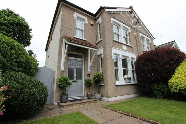 Thumbnail Semi-detached house for sale in Ridge Road, Winchmore Hill, London
