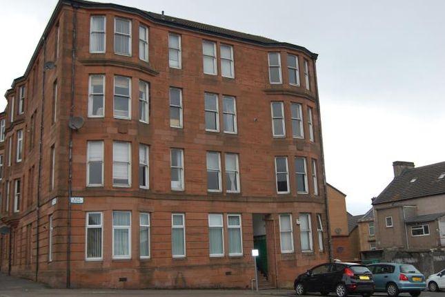 Thumbnail Flat to rent in Bank Street, Greenock