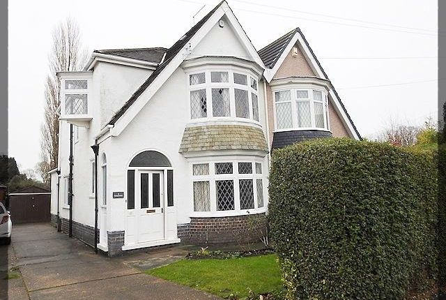 Thumbnail Semi-detached house to rent in Overland Road, Cottingham, Hull, East Yorkshire