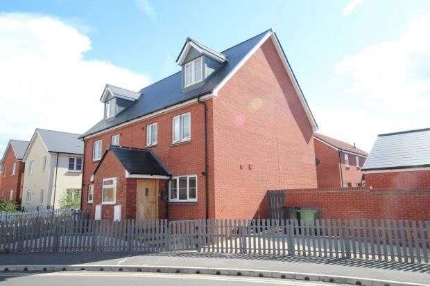Thumbnail Semi-detached house for sale in Stockmoor Drive, North Petherton, Bridgwater