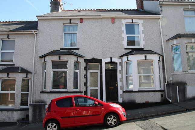 Thumbnail Terraced house to rent in Balmoral Avenue, Plymouth