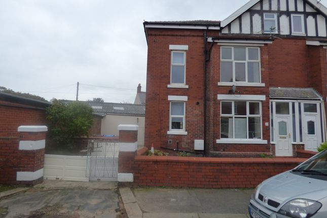 Thumbnail Semi-detached house to rent in Kirkdale Avenue, Lytham St.Annes