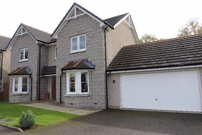 Thumbnail Detached house to rent in Beechcroft Gardens, Insch, Aberdeenshire
