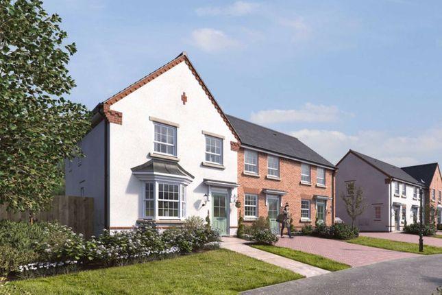 Thumbnail End terrace house for sale in Alveley View, Plot 24, Kidderminster Road, Bridgnorth, Shropshire