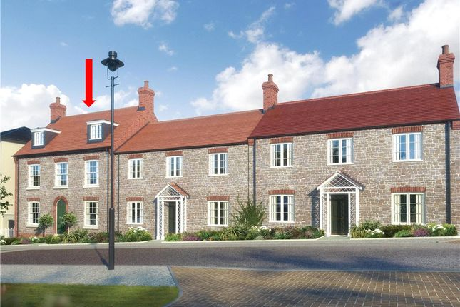 Thumbnail End terrace house for sale in East Down Lane, Poundbury, Dorchester
