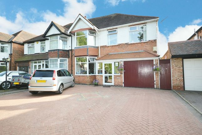 Thumbnail Semi-detached house for sale in Boden Road, Hall Green, Birmingham