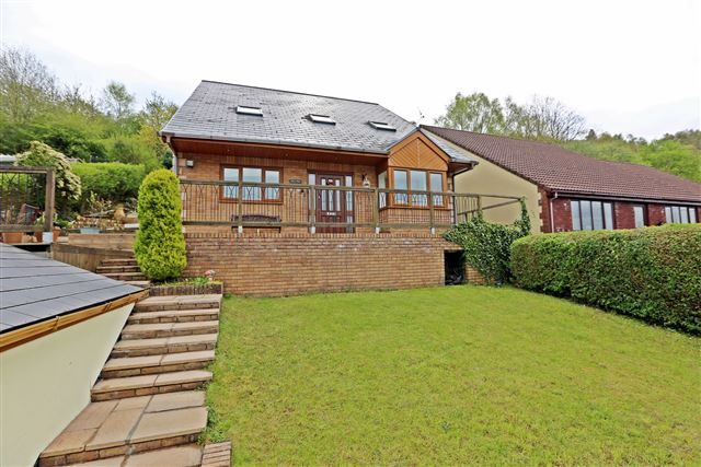 Thumbnail Detached house for sale in Brookfield Lane, Pontypridd