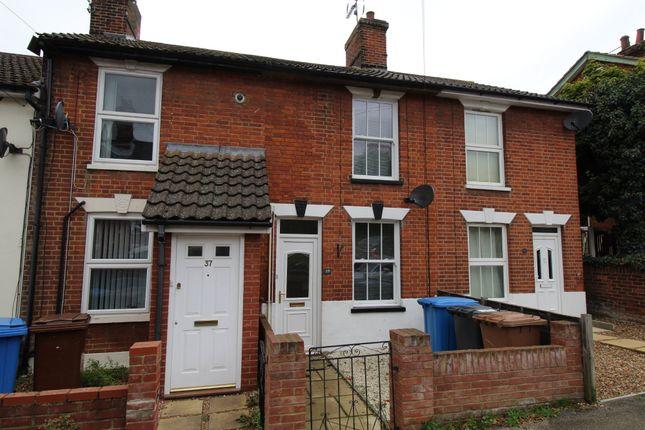 2 bed terraced house to rent in Nottidge Road, Ipswich IP4