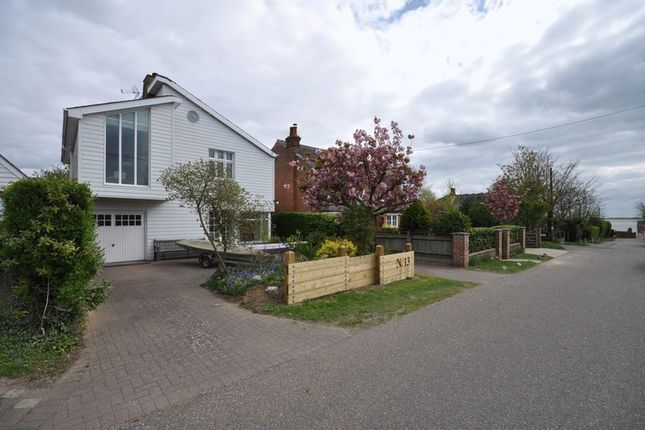 Thumbnail Detached house for sale in Sea Nook, Beach Road, West Mersea