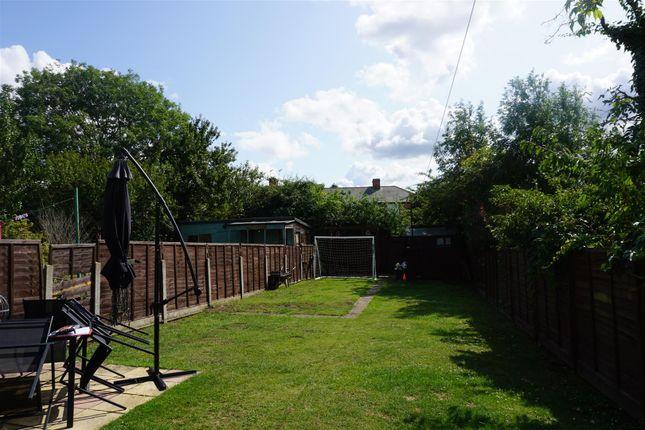 Rear Garden of Bennett Road, Ipswich IP1