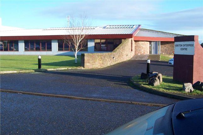 Thumbnail Office to let in Kirkton Enterprise Centre, Kirkton Industrial Estate, Arbroath