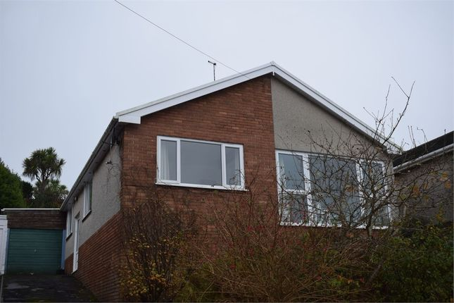 Thumbnail Detached bungalow to rent in 2 Heatherslade Close, Langland, Swansea