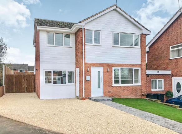 Thumbnail Detached house for sale in Hicks Close, Woodloes, Warwick
