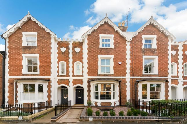 Thumbnail Town house for sale in Rugby Road, Leamington Spa, Warwickshire