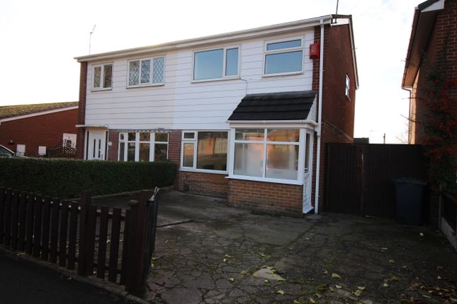 Thumbnail 3 bed semi-detached house to rent in Dylan Street, Stoke On Trent