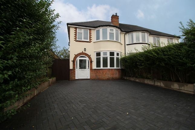 Thumbnail 3 bed semi-detached house for sale in 232 Westwood Road, Sutton Coldfield, West Midlands