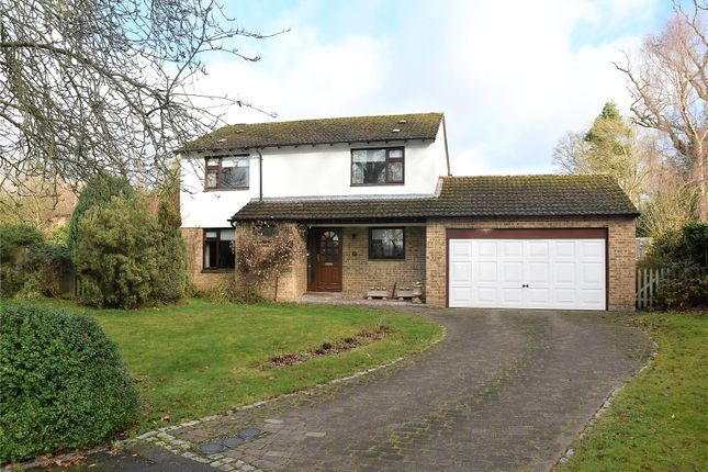 Thumbnail Detached house for sale in The Coverts, Tadley, Hampshire