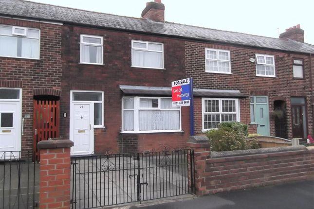 Thumbnail Terraced house for sale in Stapleton Road, Rainhill, Prescot