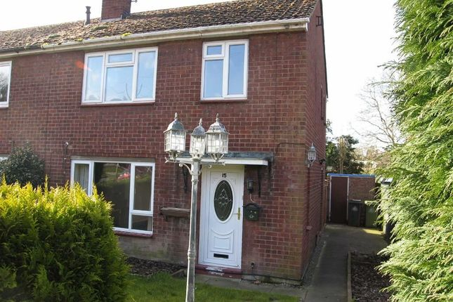 Thumbnail Semi-detached house to rent in Hillside, Myddle, Shrewsbury