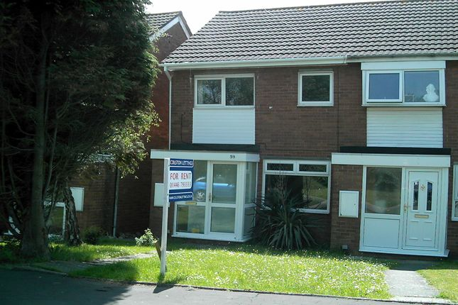 Thumbnail Semi-detached house to rent in Monmouth Way, Llantwit Major