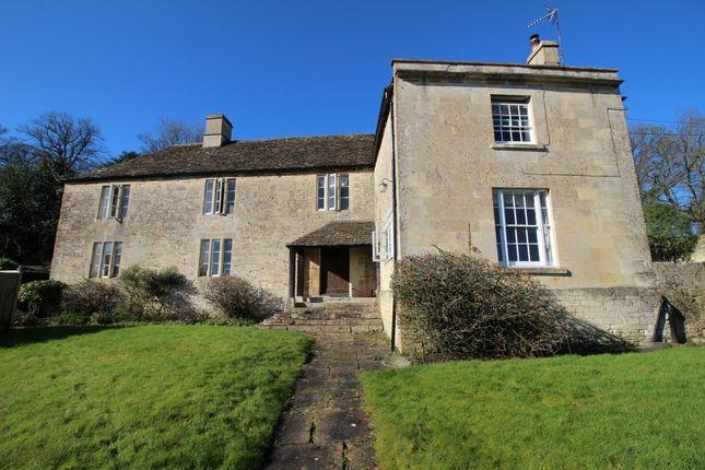 Thumbnail Farmhouse to rent in Monkton Farleigh, Bradford-On-Avon