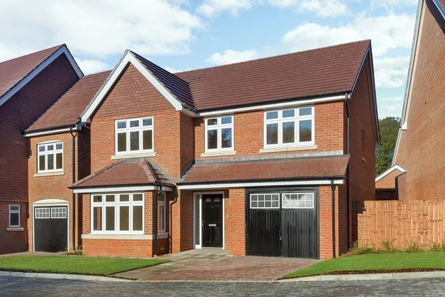 Thumbnail Detached house for sale in Woodlands Avenue, Woodley, Reading