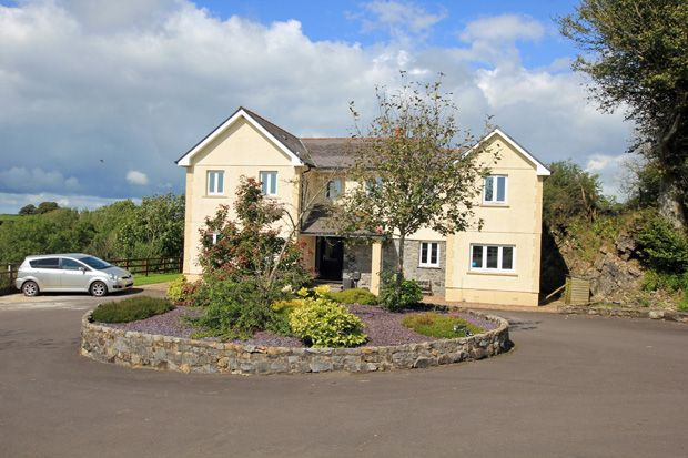 Thumbnail Detached house for sale in Four Roads, Kidwelly, Carmarthenshire