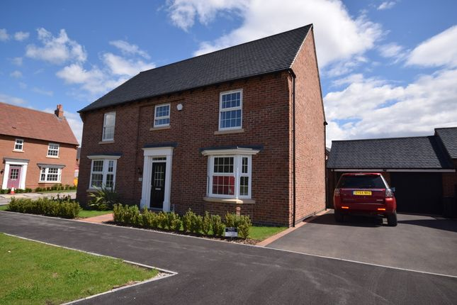 Thumbnail Detached house to rent in Galloway Road, Drakelow, Burton-On-Trent