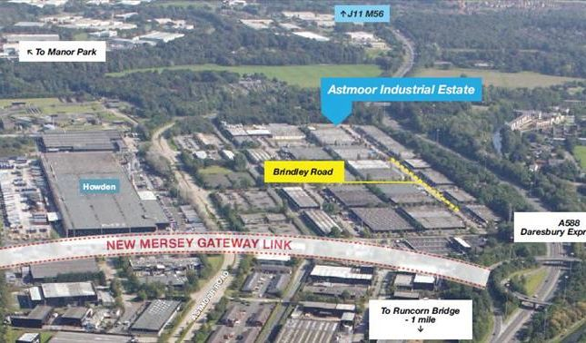 Thumbnail Light industrial for sale in Units 57/58, Brindley Road, Astmoor, Runcorn, Cheshire