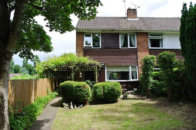 Thumbnail Semi-detached house for sale in The Meadway, Sevenoaks