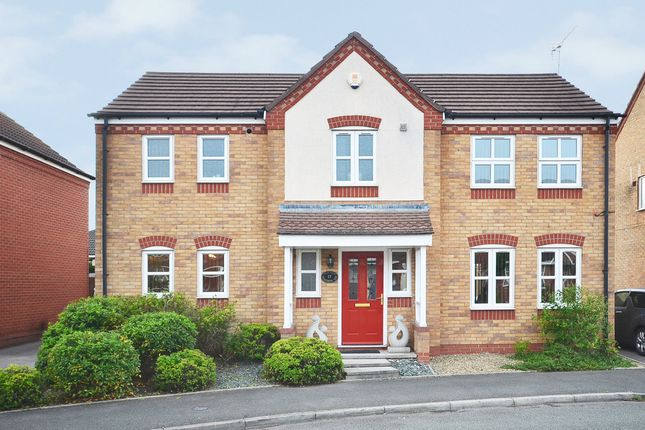Thumbnail Detached house for sale in Woodrow Way, Chesterton, Newcastle-Under-Lyme