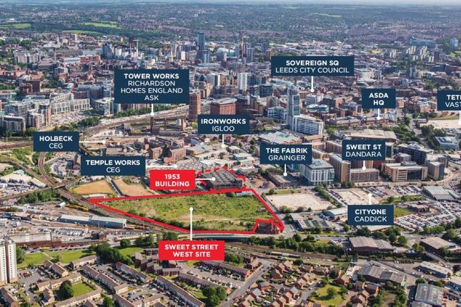 Thumbnail Land for sale in Sweet Street, Holbeck, Leeds