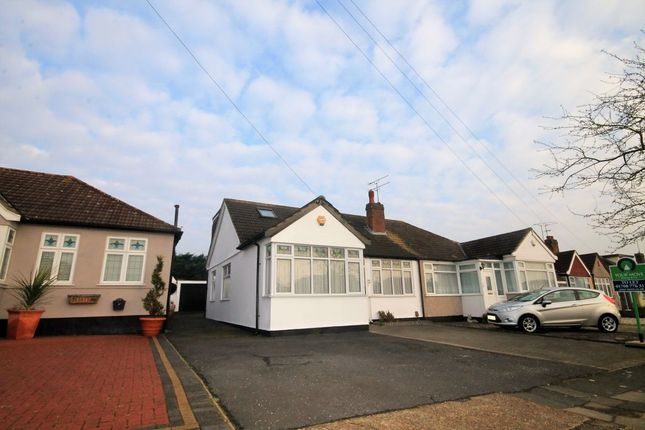 Thumbnail Bungalow to rent in David Drive, Harold Wood, Romford