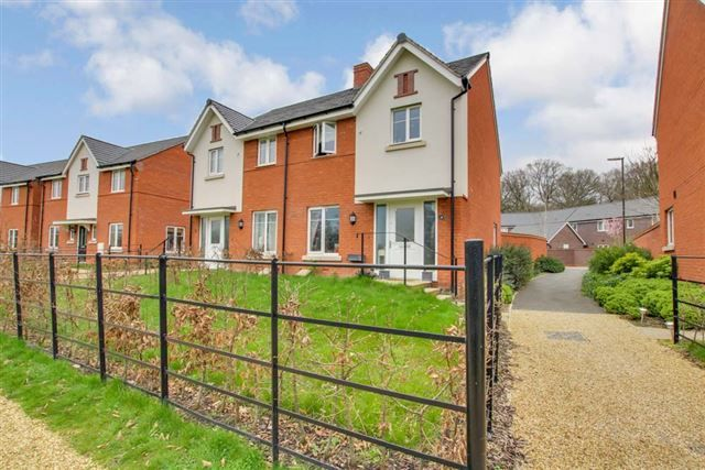 Thumbnail Semi-detached house for sale in Riverside Walk, Forge Wood, Crawley