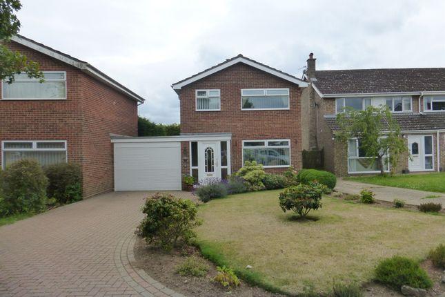 Thumbnail Detached house for sale in Foxcotte Close, Hellesdon, Norwich