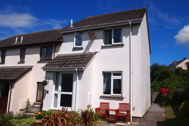 Thumbnail End terrace house for sale in Dyers Close, Braunton