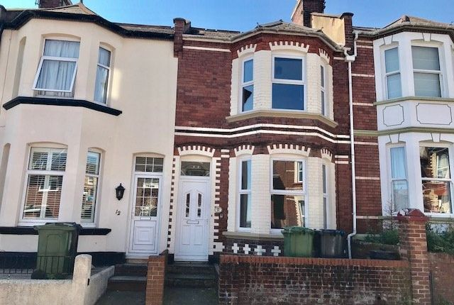 Thumbnail Terraced house to rent in Manston Road, Exeter