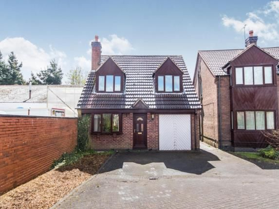 Thumbnail Detached house for sale in Kings Court, Kirkby-In-Ashfield, Nottingham, Nottinghamshire