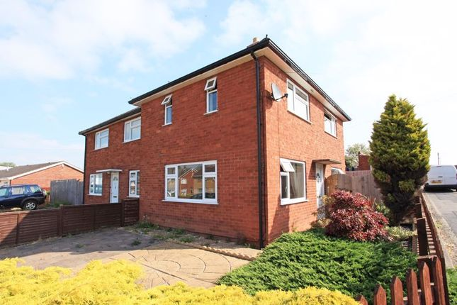 Thumbnail Semi-detached house to rent in Meese Close, Wellington, Telford