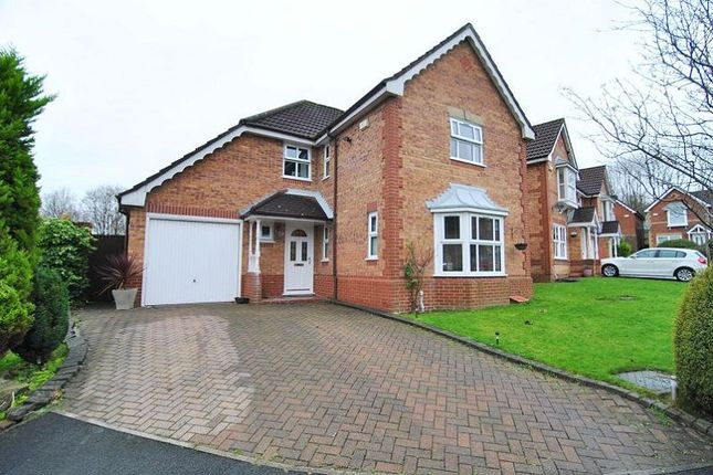 Thumbnail Detached house for sale in Larchgate, Fulwood, Preston, Lancashire