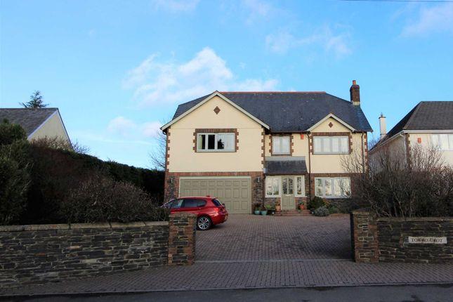 Thumbnail Detached house for sale in Saltash Road, Callington