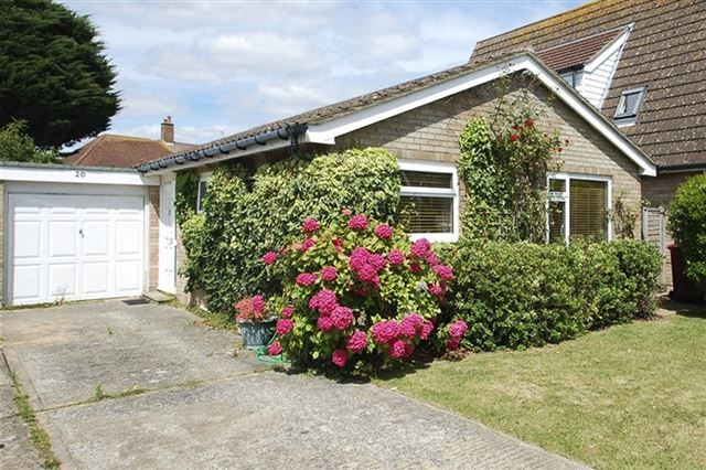 Thumbnail Bungalow for sale in Locksash Close, West Wittering, Chichester