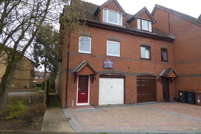 Thumbnail Semi-detached house for sale in Longacre Road, Singleton, Ashford