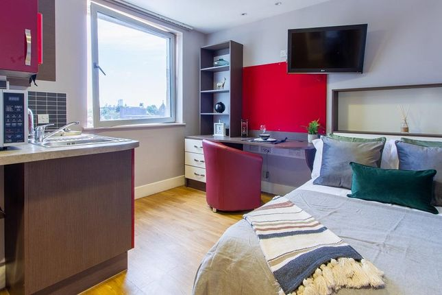 Thumbnail Studio to rent in Hawley Crescent, London
