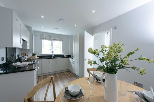 "Typical Kitchen of ""The Eveleigh"" at Showground Road, Malton YO17"