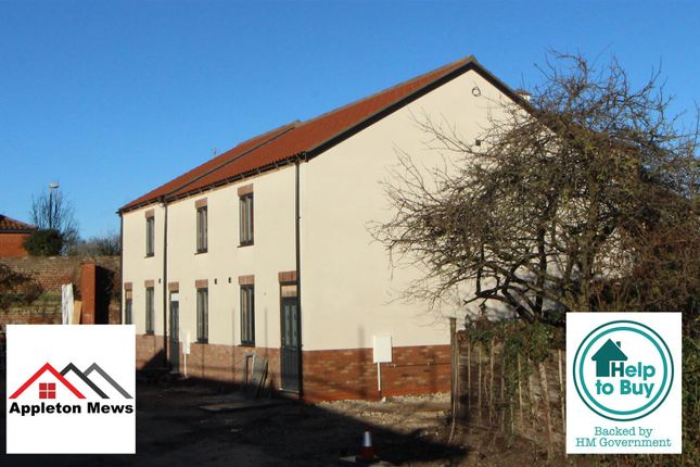 Thumbnail End terrace house for sale in Plot 3, Appleton Mews, Riverhead, Driffield