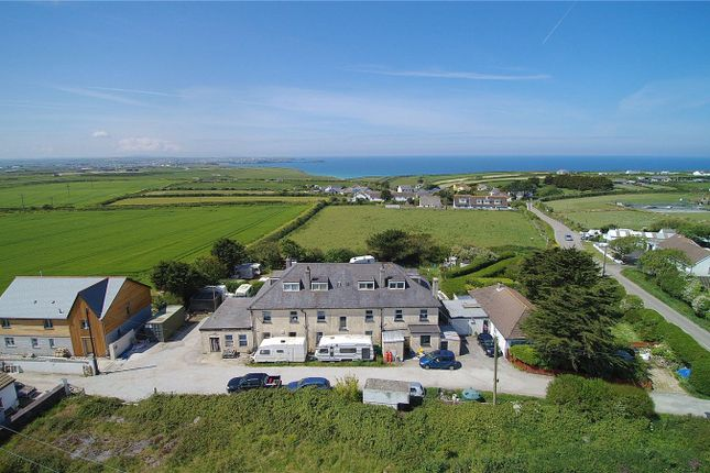 Thumbnail Detached house for sale in Tregurrian, Newquay